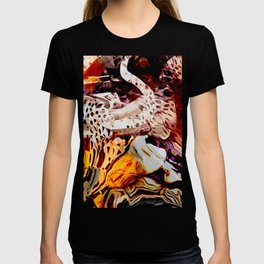 Who left the gate open? T-shirt