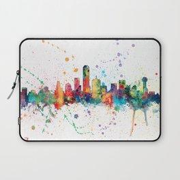 Dallas Texas Skyline Laptop Sleeve