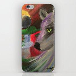 Eclipse Wolf iPhone Skin