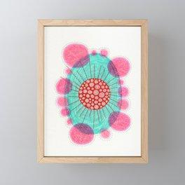 Escaping Nucleus Framed Mini Art Print