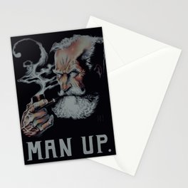 Man Up Stationery Cards