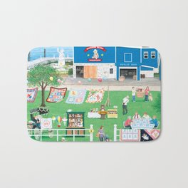 Dockside Bears Bath Mat