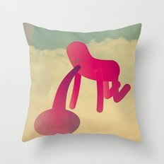 t o o m a n y c o c k t a i l s Throw Pillow