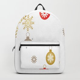 Christmas Day Ornaments Backpack