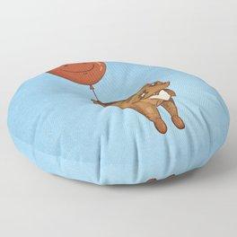 Float On, Bear, Float On Floor Pillow