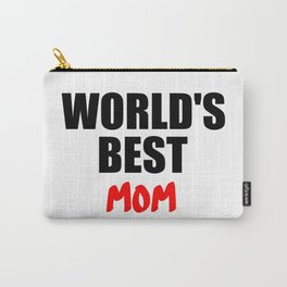 worlds best mom gift Carry-All Pouch