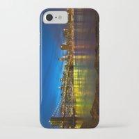 brooklyn bridge iPhone & iPod Cases featuring Brooklyn Bridge by Svetlana Sewell