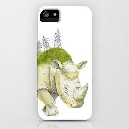 rhinoceros  iPhone Case