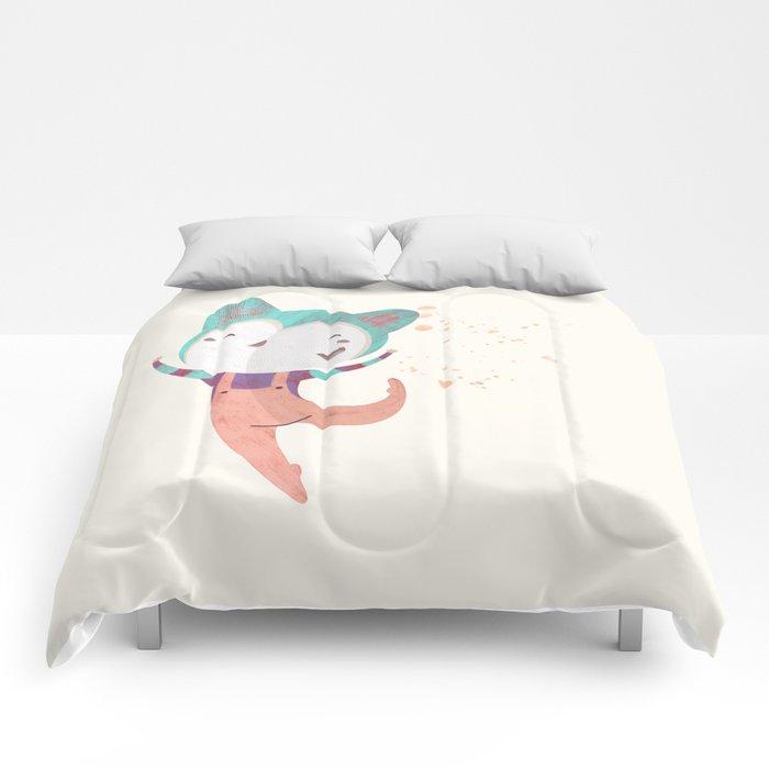 Dance Dreams (Cream) Comforters