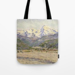 The Valley of the Nervia Tote Bag