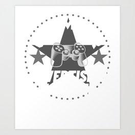 advertising-manager Gamer Gift Art Print