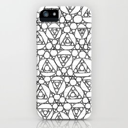 apollonian gaskets! iPhone Case