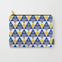 Modern Winter Pattern Carry-All Pouch