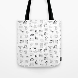 Gilmore Girls quotes Tote Bag
