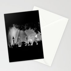 night time in the city Stationery Cards