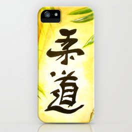 japanese JuDo - the gentle way iPhone Case