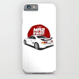 MR2 SW20 White iPhone Case