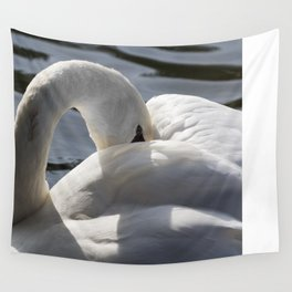 Swan Peace Wall Tapestry