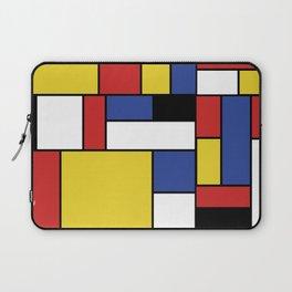 Mondrian Geometric Art Laptop Sleeve
