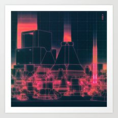 POLIS (everyday 02.18.16) Art Print