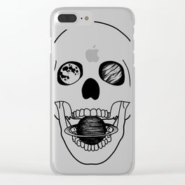 dead space Clear iPhone Case