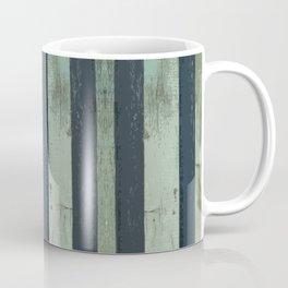 Stripped Green Lines Coffee Mug