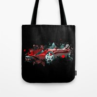 cars Tote Bags featuring cars  by mark ashkenazi