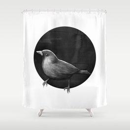 Polka Perch Solo Shower Curtain