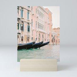 venice canals Mini Art Print