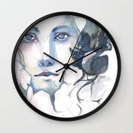 The Prince of Flowers Wall Clock