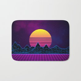 Synthwave Bath Mat