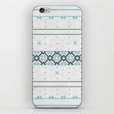 Christmas pattern iPhone & iPod Skin