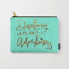 Darling Let's Be Adventurers Carry-All Pouch