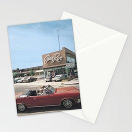 Eden Roc Motel, 1960's Pontiac, Wildwood, NJ, Retro Motel Stationery Cards