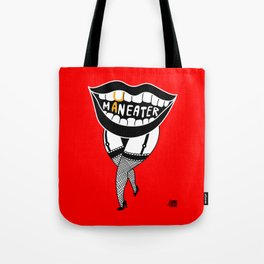 Maneater! - femme fatale crazy legs Tote Bag