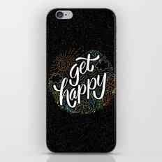 get happy iPhone & iPod Skin