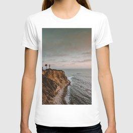 California Lighthouse Sunset T-shirt