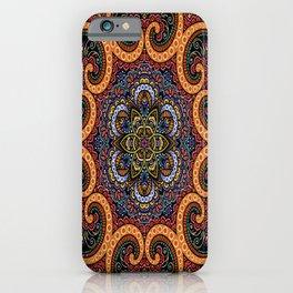 Mandala design 11 iPhone Case