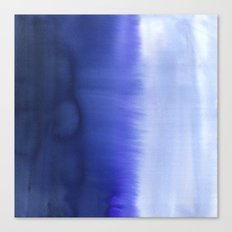 Flood Blue Canvas Print