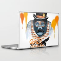 gangster Laptop & iPad Skins featuring Gangster by dogooder