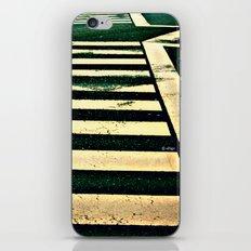 Zebra Crossing iPhone & iPod Skin