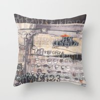 typewriter Throw Pillows featuring Typewriter!  by Tracey Shaw