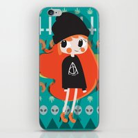 grunge iPhone & iPod Skins featuring Grunge by Irene Dose