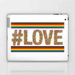 Love is Love GAY PRIDE SEASON LGBT QUEER ART Laptop & iPad Skin