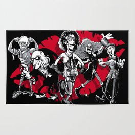 RHPS gang of five Rug