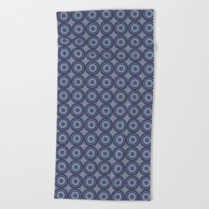 China Blue Beach Towel