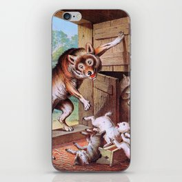 The Wolf And The Seven Young Kids - Digital Remastered Edition iPhone Skin