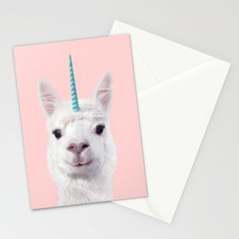 ALPACA UNICORN Stationery Cards