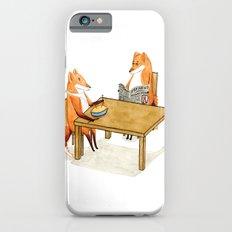 Foxy Dinner iPhone 6s Slim Case