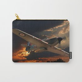 A Fighter Plane Returns Home Carry-All Pouch